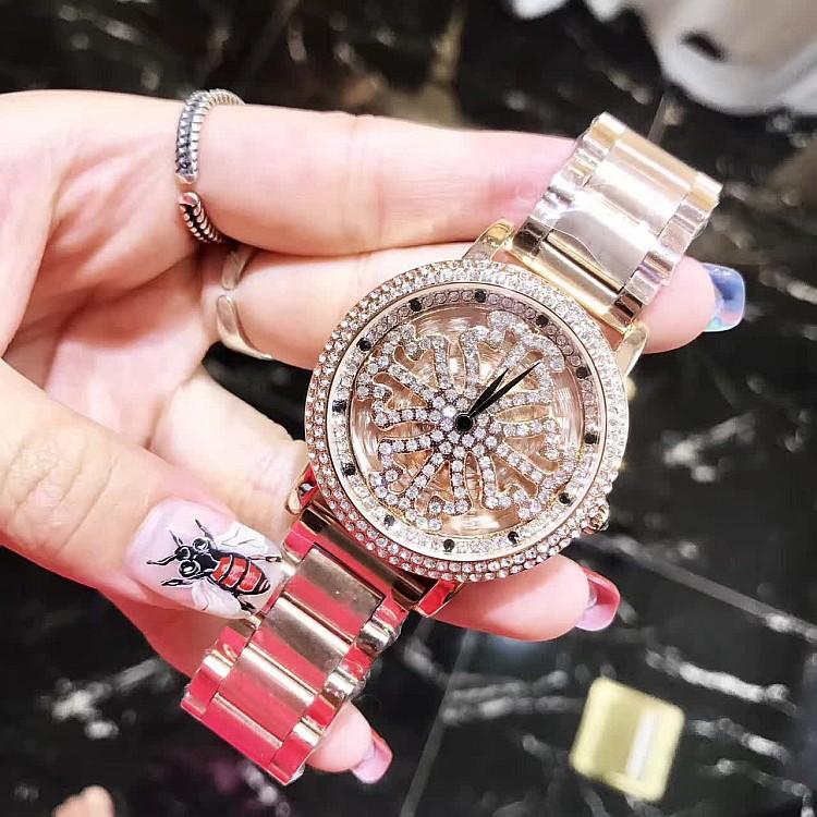 ��莎莉女款爆款新款紫色女士手表�r�磉\�D�r尚潮流��性不�P���