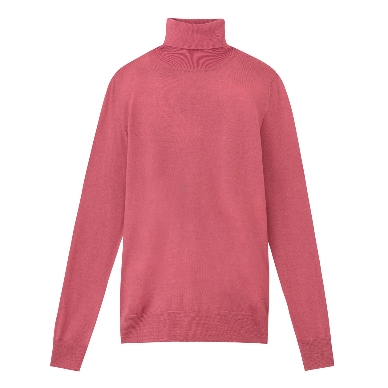 MUJI women's high neck sweater without neck tingling