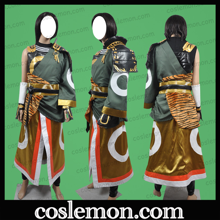 Coslemon Warring States matchless 3 Kato Shinsei cos suit full Cosplay mens and womens clothing