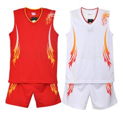 篮球服套装男儿童背心篮球衣训练服女球衣运动比赛队服定制印字号