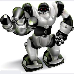 遥控智能机器人玩具...