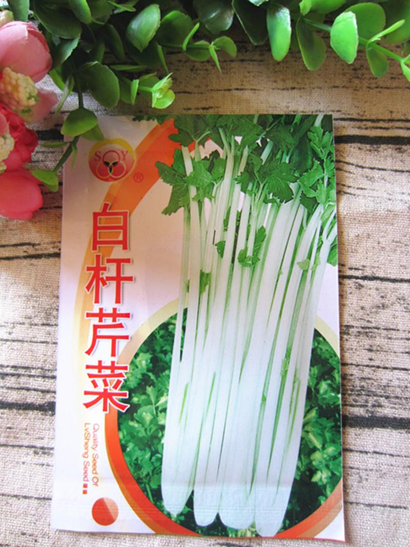 雲南の野菜の種は包んで白い竿のセロリの10グラムの昆明の古い品種の非西芹家庭の園芸の野菜の種のベランダを郵送します。
