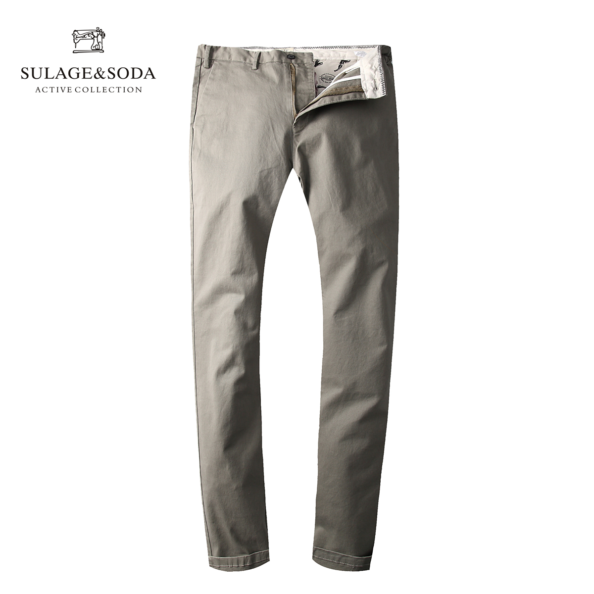 Scotland soda autumn and winter new foreign trade original casual pants mens trousers imported big brand micro elastic pants