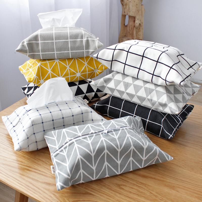 Сельская местность льняная ткань бумажные полотенца мешок сетка треугольник ткань двухслойный двойной молния насосные мешок домой автомобиль шнур ткань