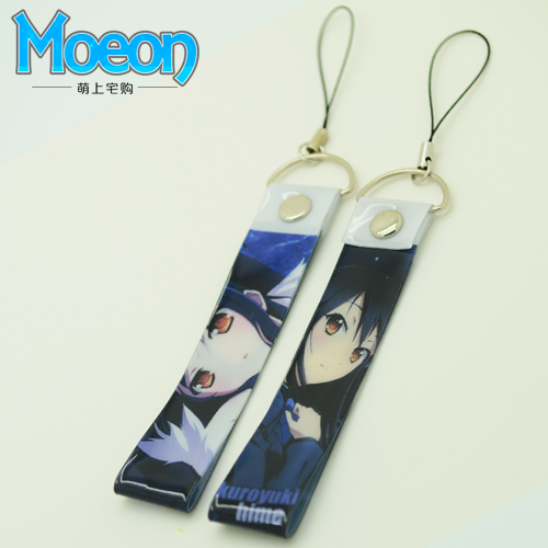 Mobile phone hanging rope animation accelerating the world heixueji animation peripheral bag mobile phone pendant hanging mobile phone chain sling