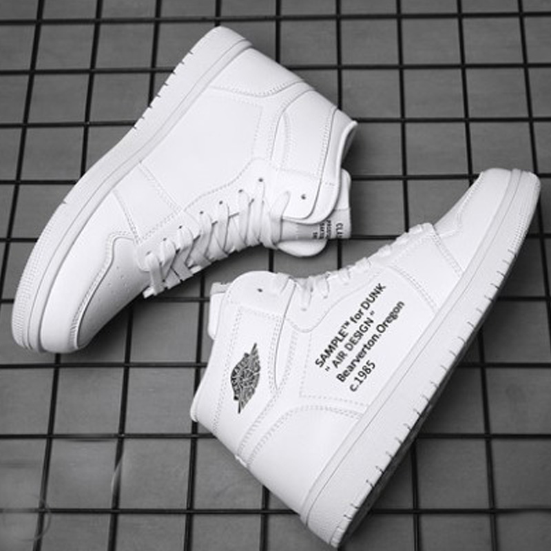 Air force No.1 aj1 basketball shoes small size 35 large size 48 mens shoes high top board shoes Plush womens shoes