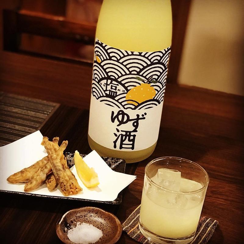 【2月底到货】#盐柚子酒#日本北岛酒造果酒 酸甜平衡 7度