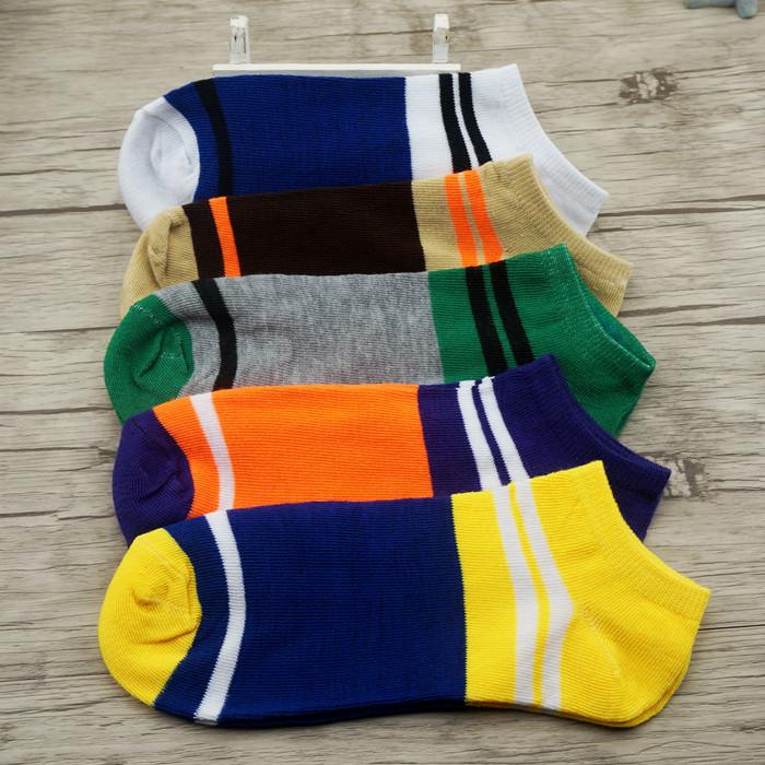 袜子批发便宜袜子足浴夏季袜夜市运动袜10双包邮全棉低腰男女袜子
