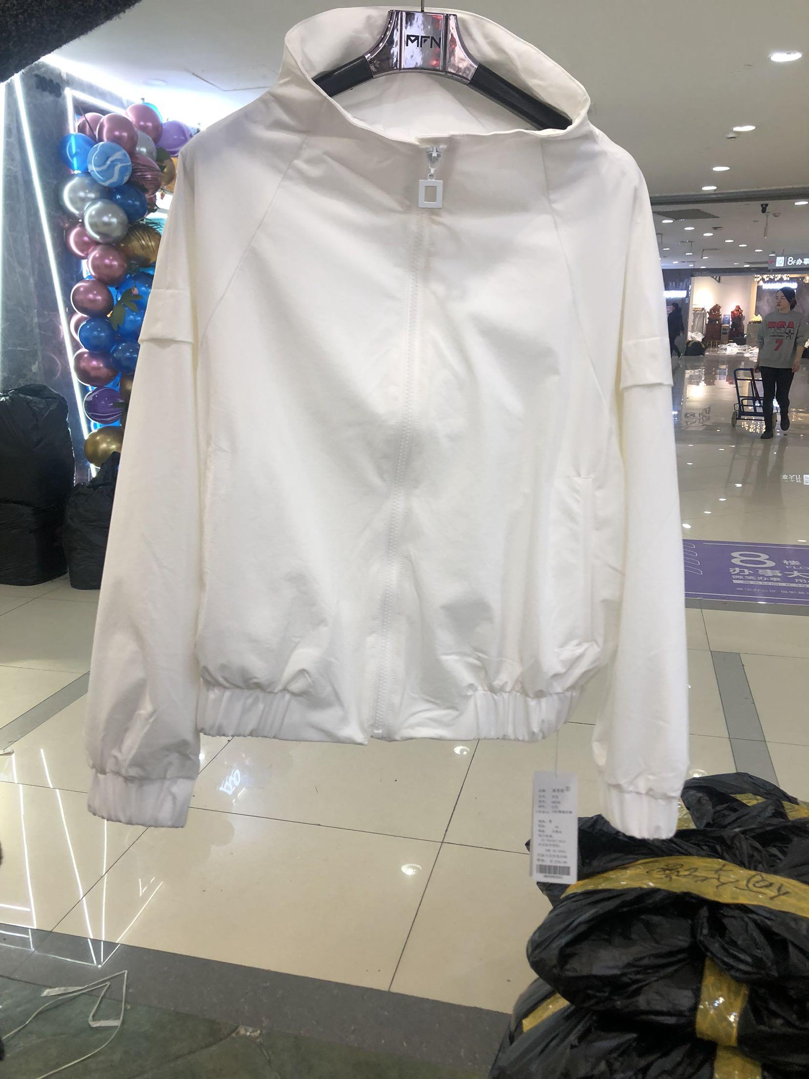 Fall 2020 new jacket womens long sleeve zipper stand collar loose and versatile Baseball Jacket short jacket manfeni
