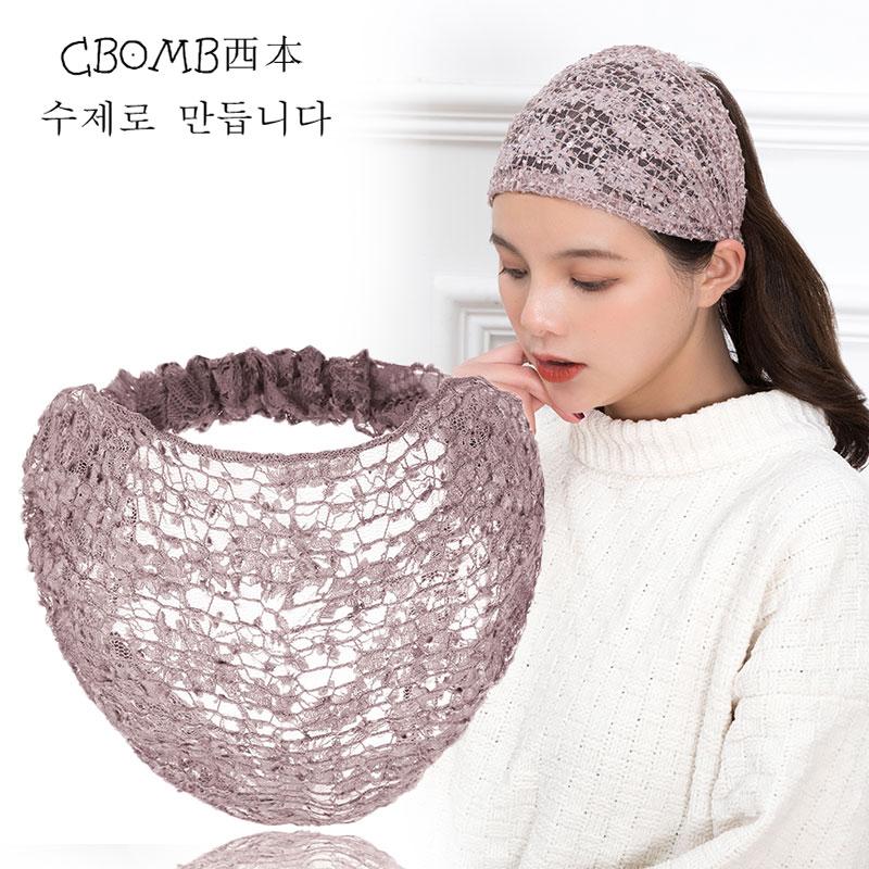寬邊發帶女遮白發頭箍韓國甜美森女系洗臉壓發頭巾頭套發箍頭飾女