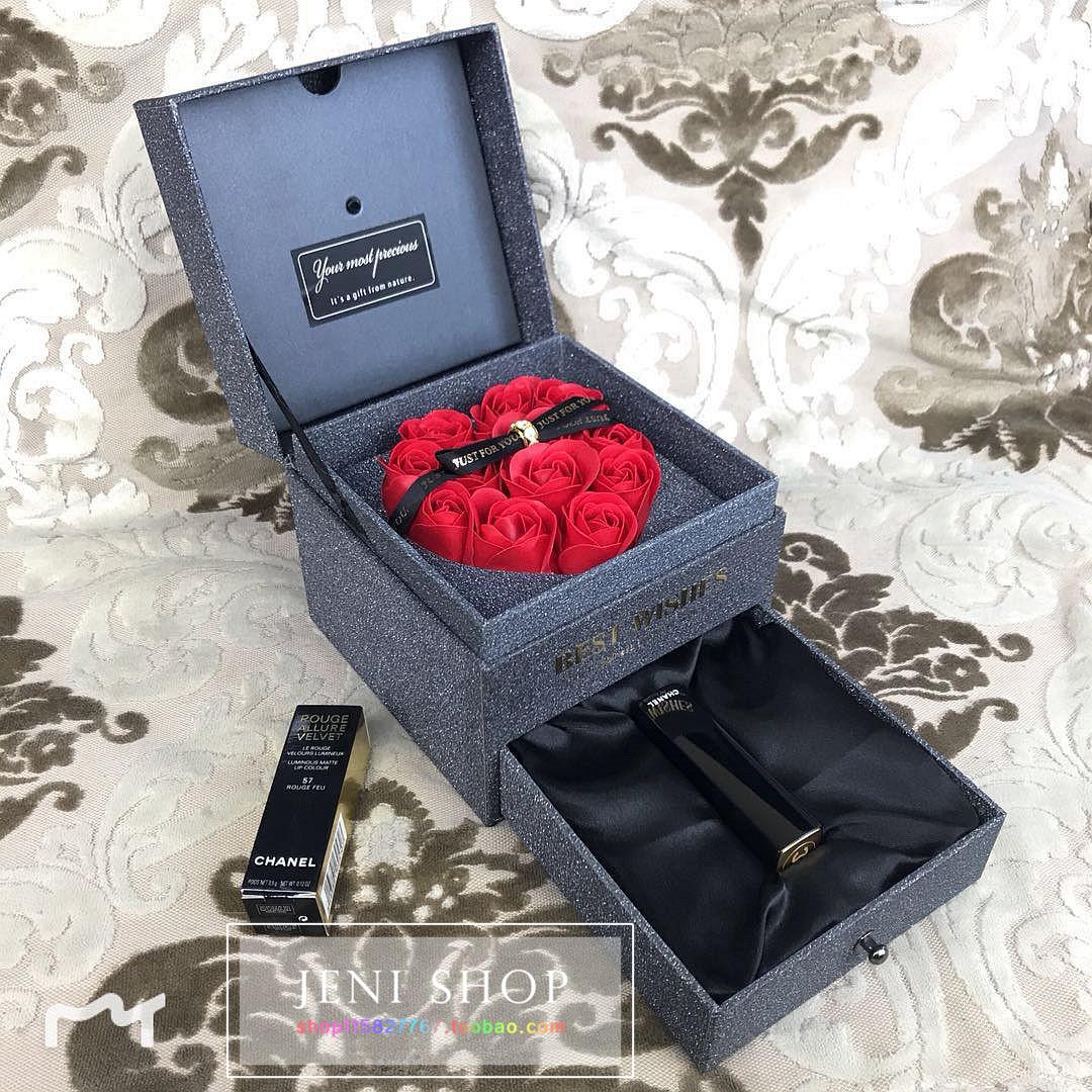 chanel/口红 送爱人送朋友节日生日浪漫高档礼物 音乐礼盒图片
