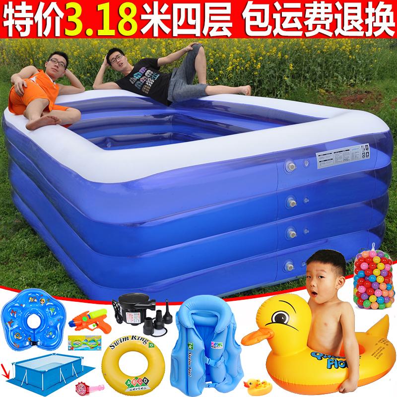 限2000张券充气家用成人超大号家庭加厚游泳池