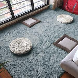 北欧羊毛地垫家用小地毯加厚毛绒客厅爬行垫榻榻米卧室床边毯满铺