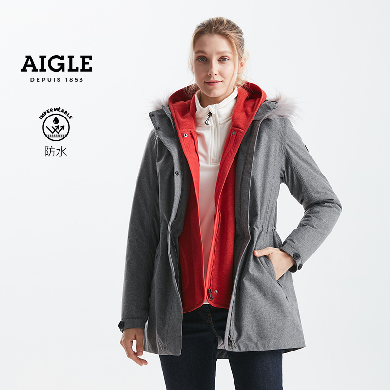 aigle indianapolis女款棉服棉夹克
