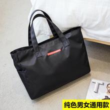 防水健身包行李袋短途小容量手提旅行包男女生加厚尼龙布包妈咪大