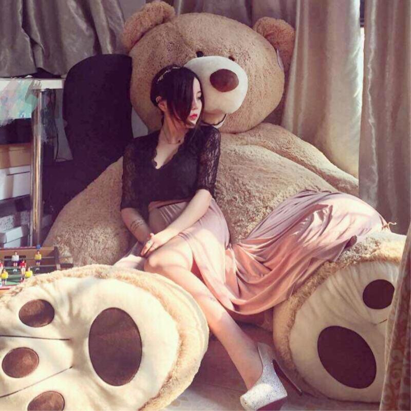 大熊超大特大号毛绒玩具泰迪熊猫抱抱熊布娃娃公仔女可爱床上抱枕