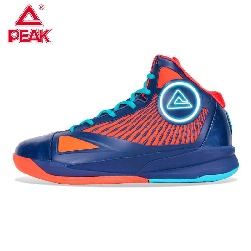 Peak / peak basketball shoes authentic mens spring and summer wear resistant shock absorption shoes sports shoes fast Eagle high top boots