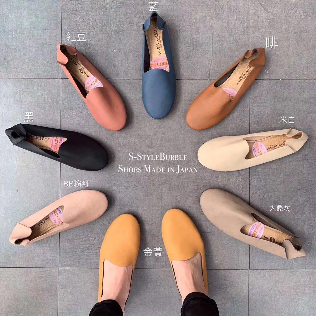 现货包邮 日本制造 SOFT CONTACT通勤女鞋懒人鞋舒适浅口平跟简约