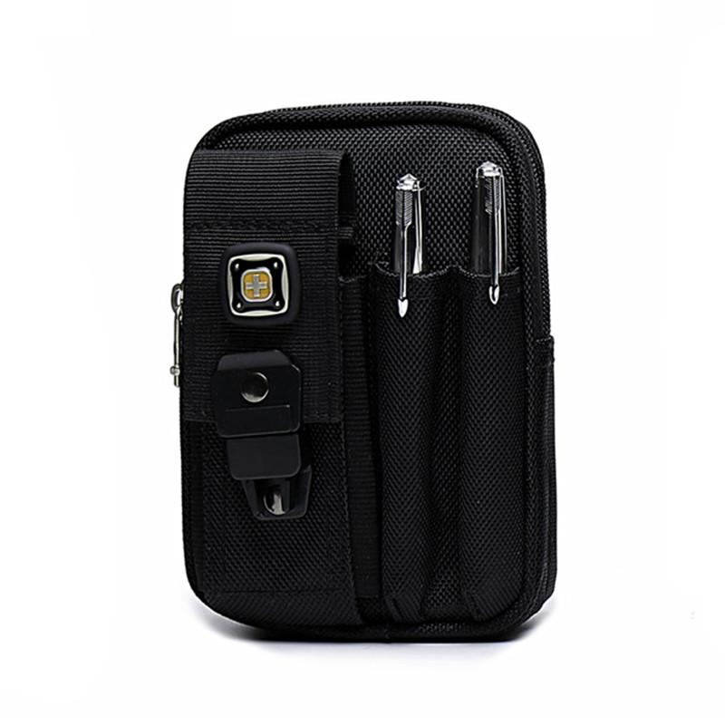 瑞士军刀包 腰包男多功能5.5/6寸手机包穿皮带户外运动小腰包挂包