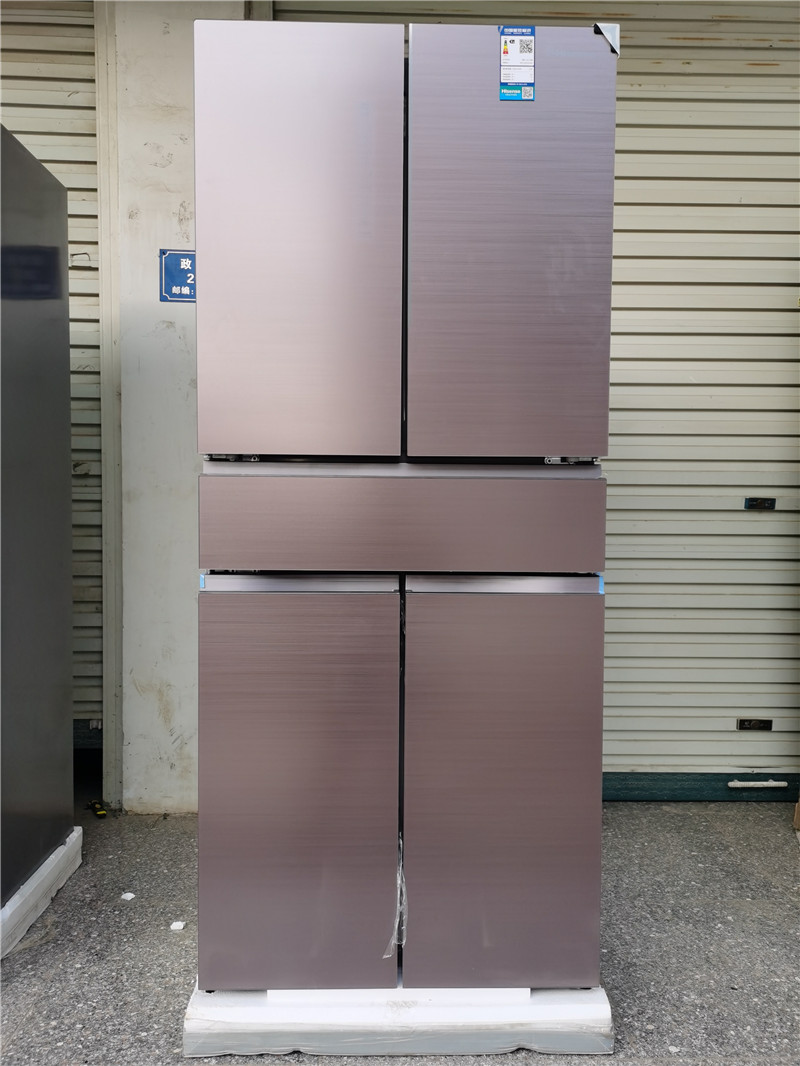 Hisense / Hisense bcd-420wtdgvbp air cooled frost free Chinese character five door frequency conversion sterilization refrigerator
