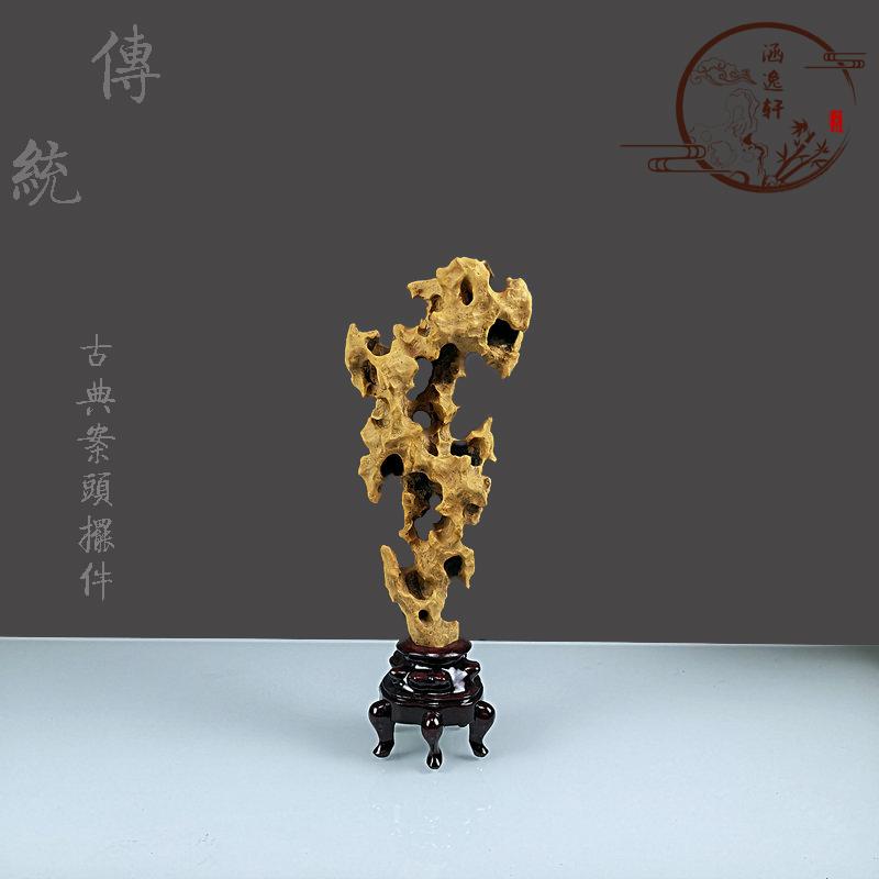 Lingbi Taihu stone Chinese Desk Decoration study decoration living room porch office TV cabinet watch strange stone