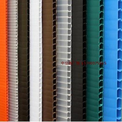 PP塑料中空板防静电万通板周转箱垫板板材2-10mm厂家定制包邮