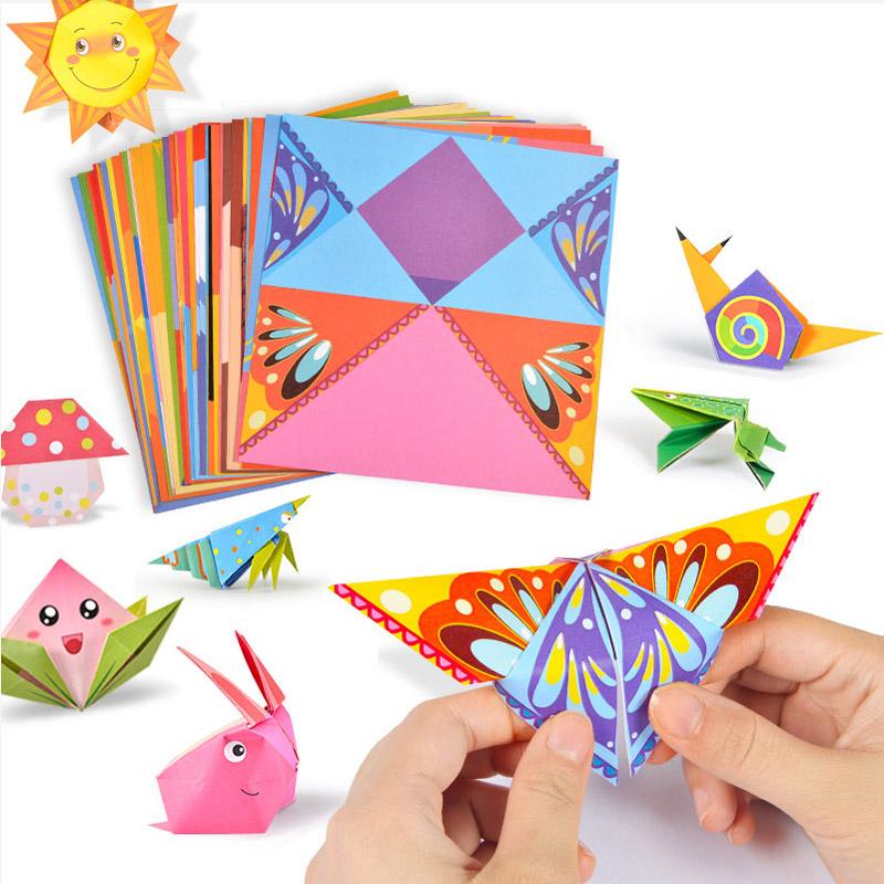 折纸书儿童手工剪纸diy制作材料包大全幼儿园彩色纸手工纸玩具女,可领取2元天猫优惠券