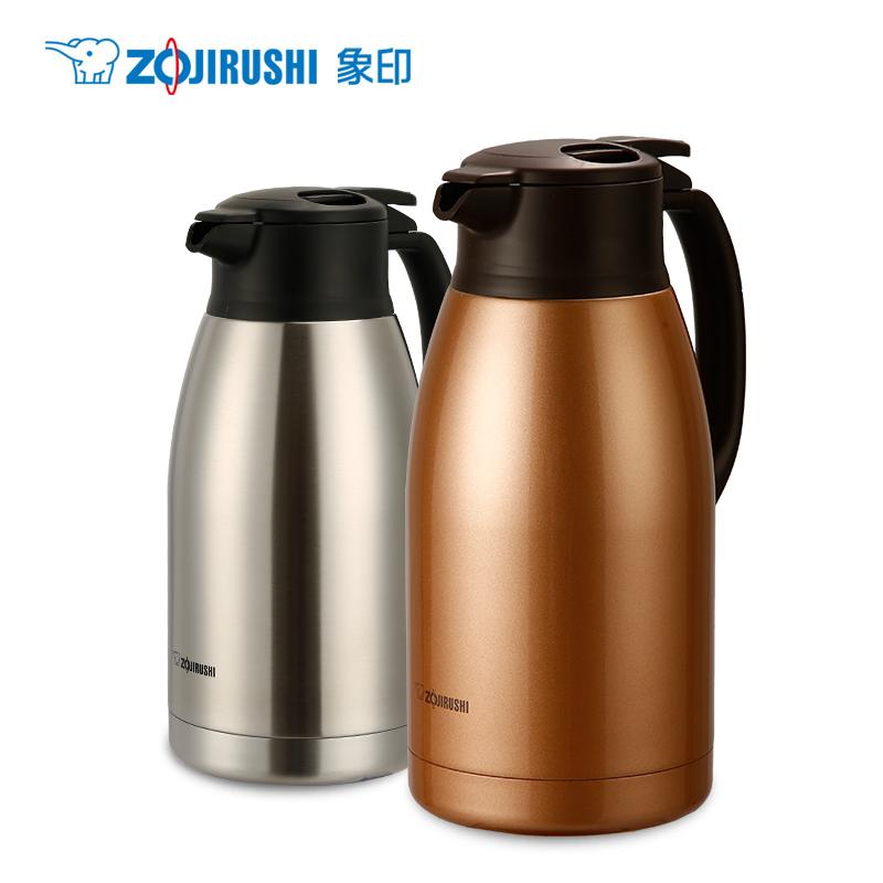 象印家用保温壶SH-HA19C不锈钢暖壶大容量1.9L保温瓶热水壶暖水瓶