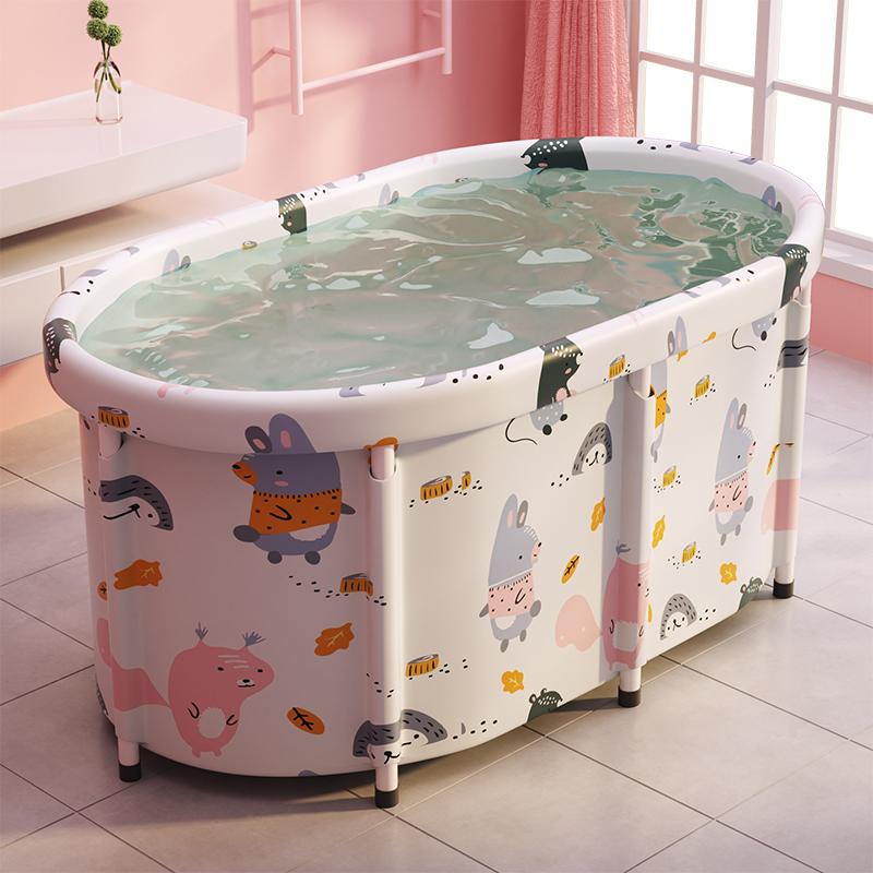 泡澡桶大人可折叠家用泡澡浴缸全身大号成人神器洗澡盆儿童沐浴桶