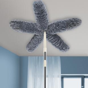 鸡毛掸子家用除尘毯子扫灰可伸缩毛毯禅子打扫卫生清洁神器工具图片