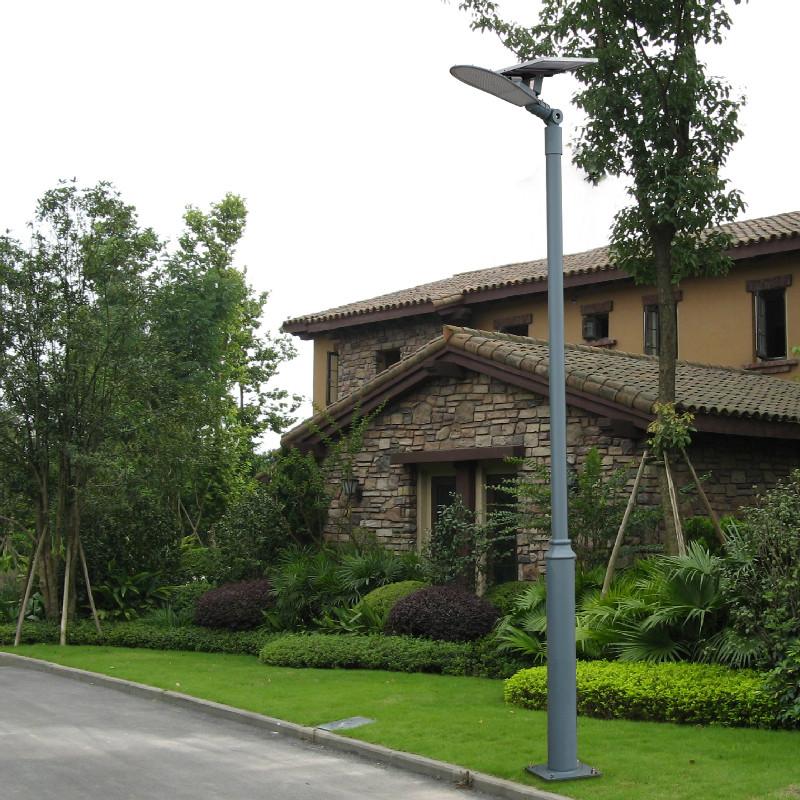 太阳能路灯户外灯防水庭院灯3米4米光控太阳能灯挑臂LED路灯