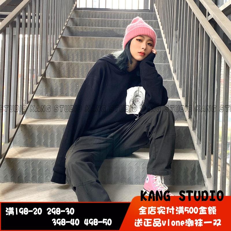 Clot x fragment x innersect三方聯名貼布衛衣帽衫男女陳冠希 潮