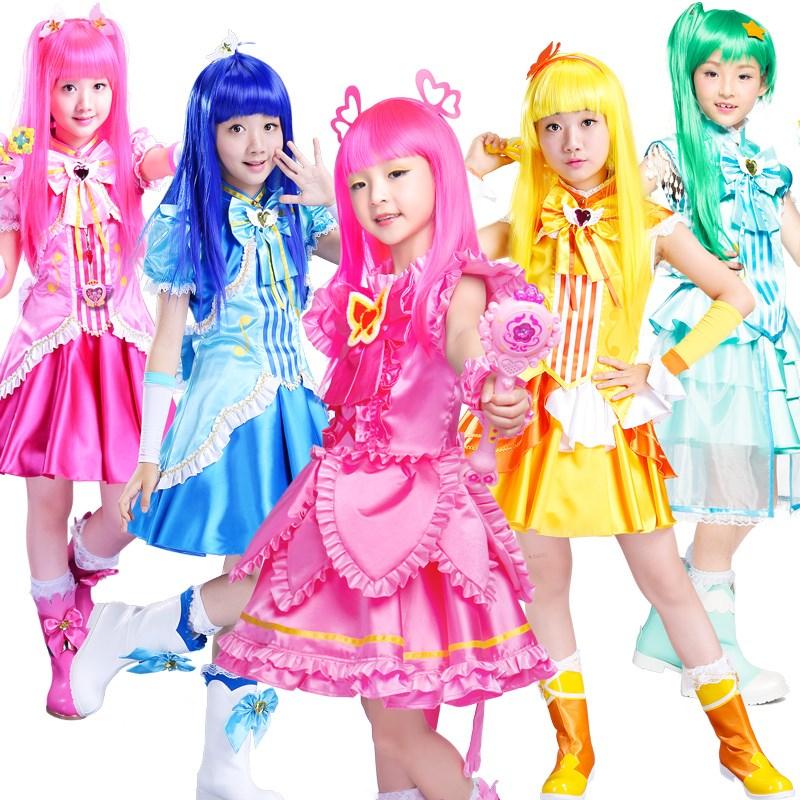 六一儿童节表演服女童公主裙角色扮演巴拉巴拉小魔仙套装儿童服装
