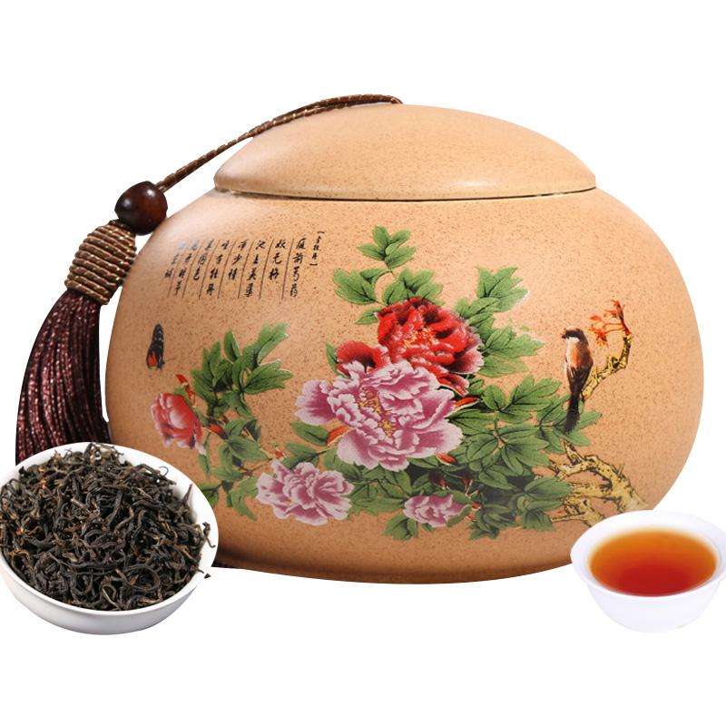 新茶 郎品 金駿眉 茶葉 紅茶 150克陶瓷罐裝 送一個禮袋