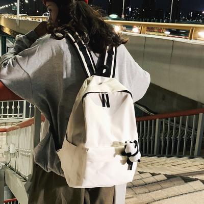 女韩版原宿ulzzang高中双肩背包