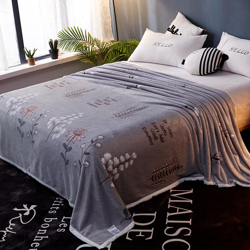 冬季法兰绒床垫毛毯被子加厚珊瑚法莱水晶绒铺床毛毛加绒毛绒床单