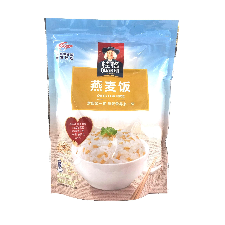 桂格燕麦饭袋装 600g 免洗 五谷杂粮  米饭伴侣谷香谷物 满3包邮