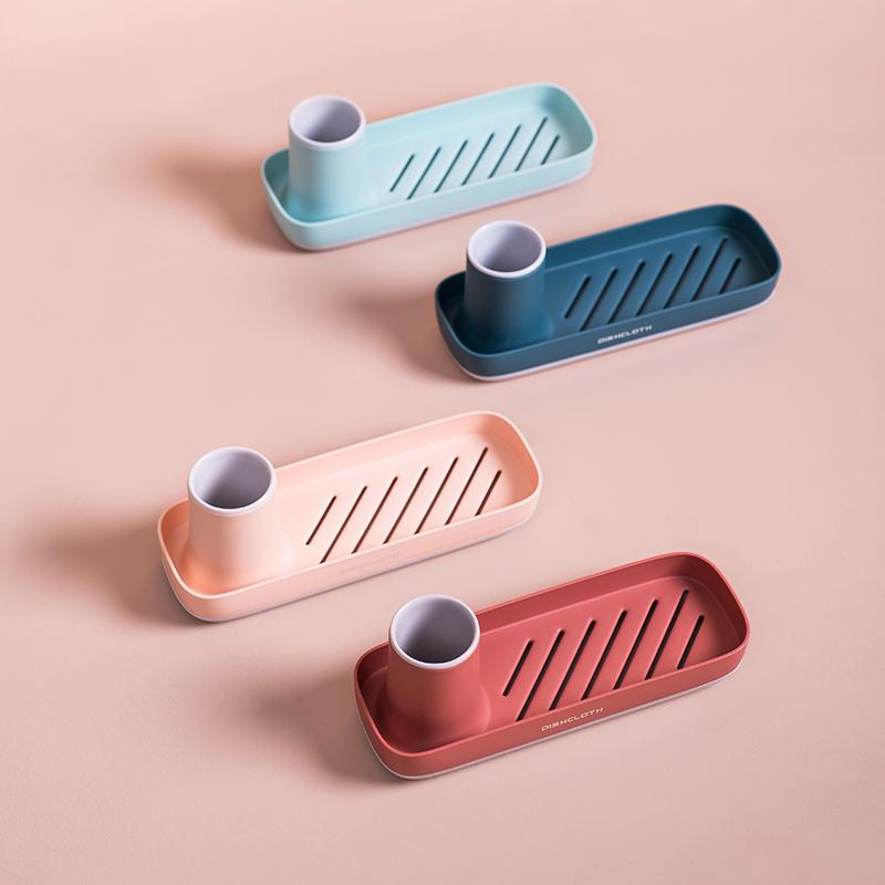 可弯曲水槽挂篮创意厨房清洁沥水架(非品牌)