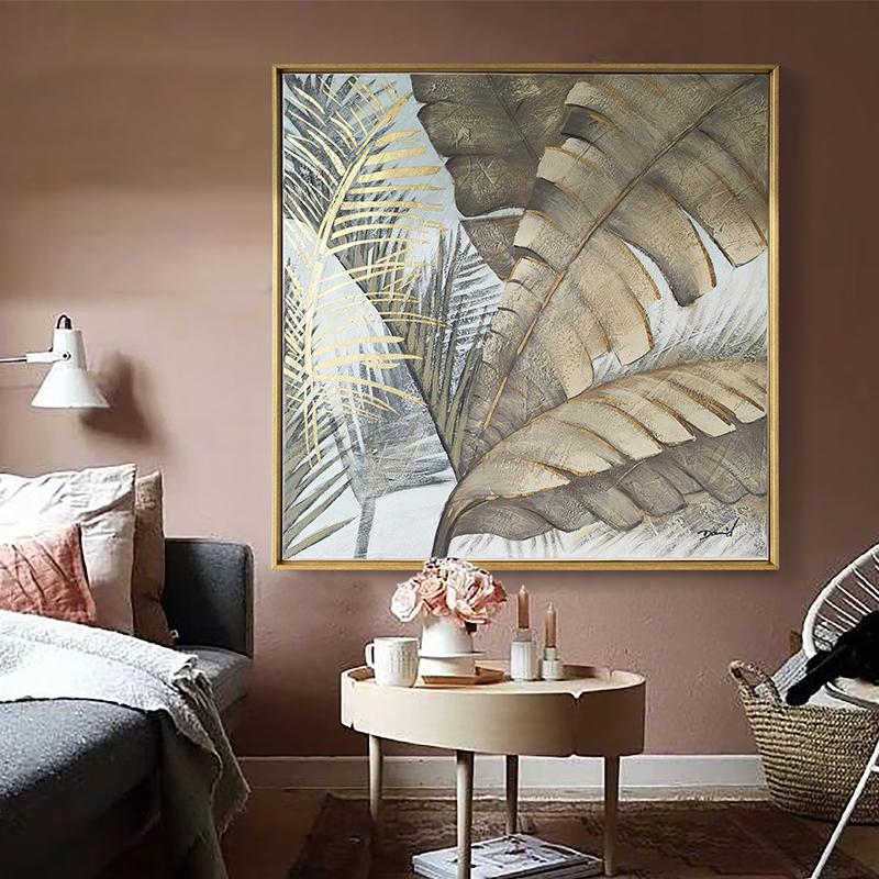 满600元可用30元优惠券DUDUO都多|美式轻奢手绘油画 客厅餐厅装饰画玄关欧式挂画壁画