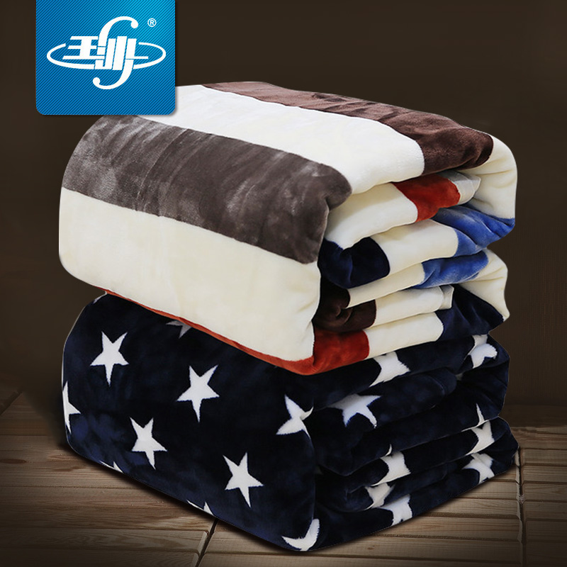 毛毯被子冬季加厚保暖法兰绒宿舍学生单人珊瑚绒床单午睡盖小毯子 thumbnail