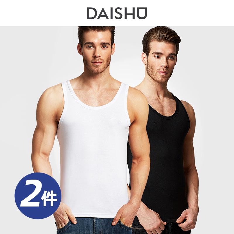 袋鼠背心男士运动紧身打底汗衫夏季弹力背心修身青年健身跑步衫潮