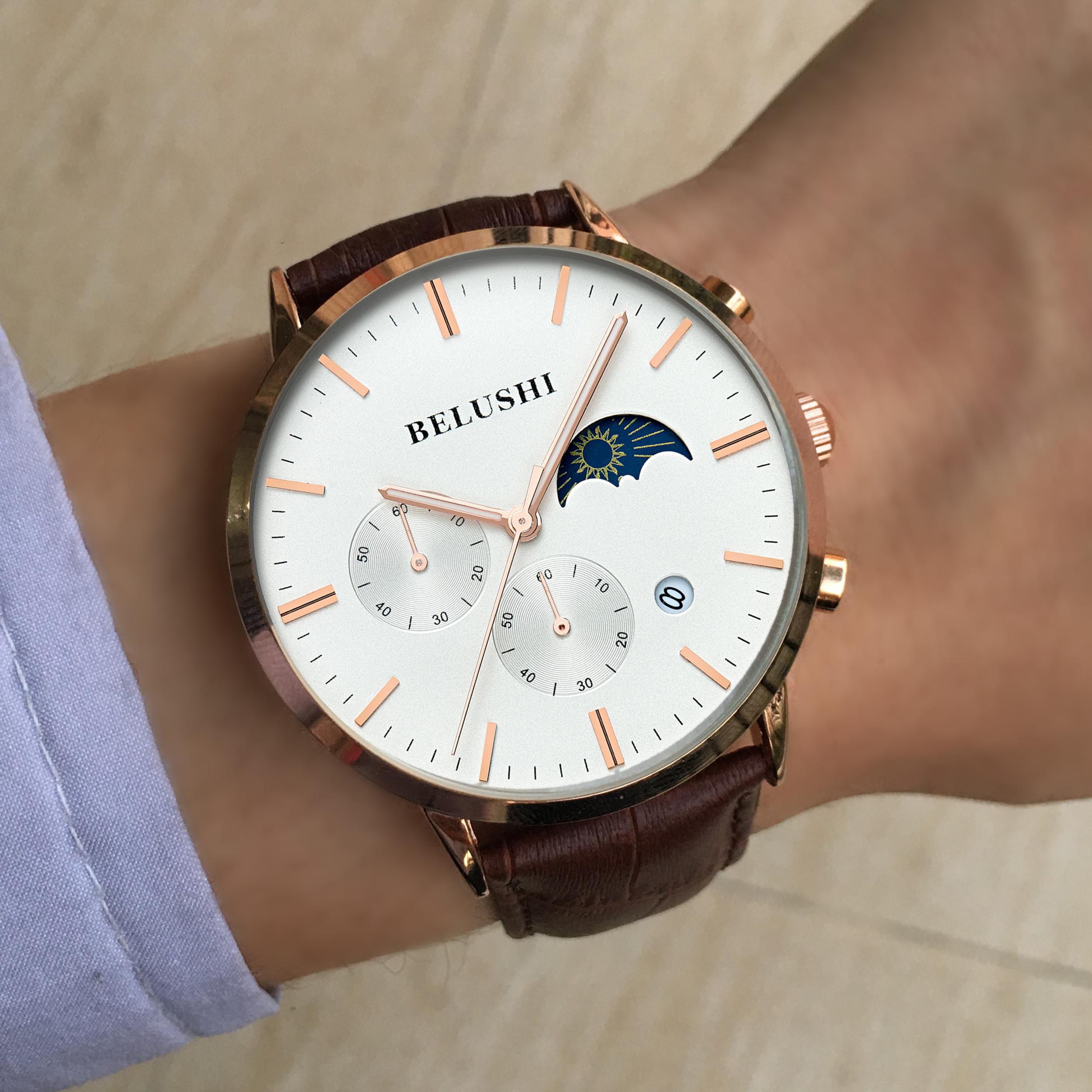 Швейцарские часы мальчики мода ремни светящимися водонепроницаемый Корейский Спорт Мужские Часы механические кварцевые