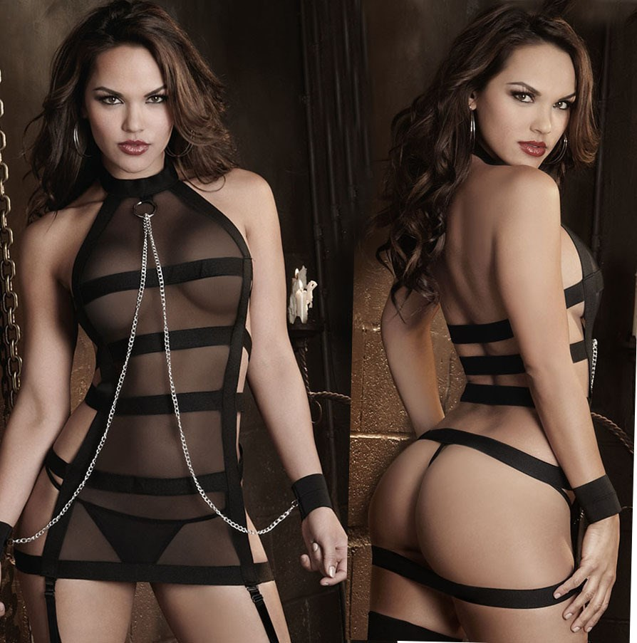 Sexy Sexy lingerie women Close underpants Seamless Open file