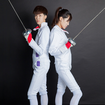 Zhang Brand fencing clothing set childrens fencing clothes three sets of flower Sabre 350N can participate in the Competition CE certification