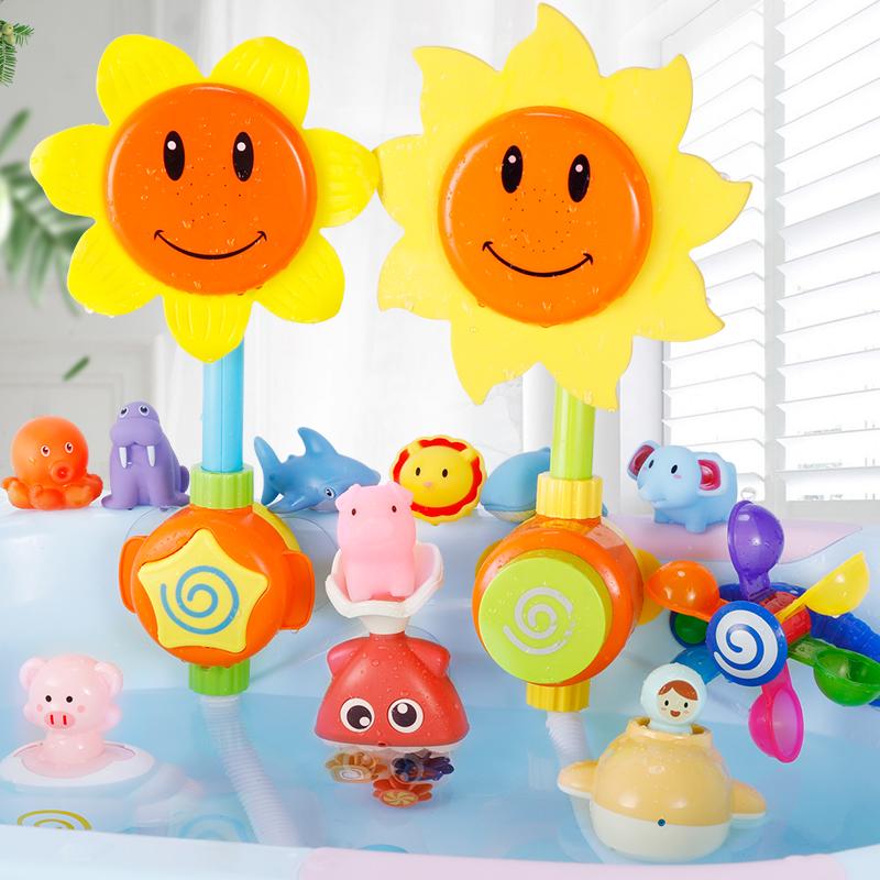 小鸭子洗澡玩具