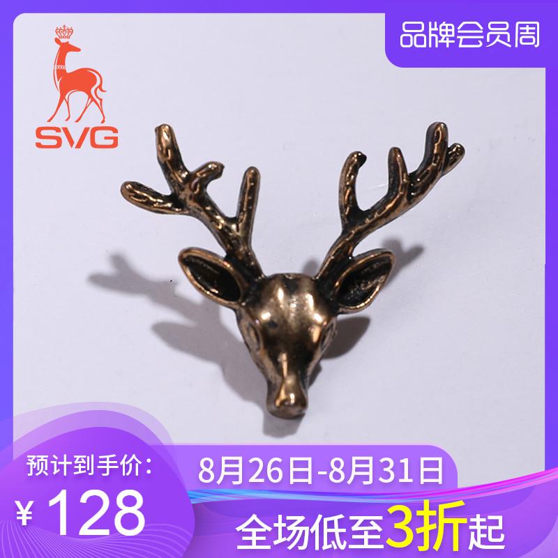 SVG高尔夫服饰胸针配饰小鹿挂件运动服饰饰品
