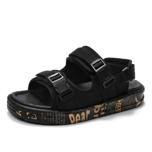 Summer slippers dual-purpose outdoor wear beach shoes men's sandals sandals