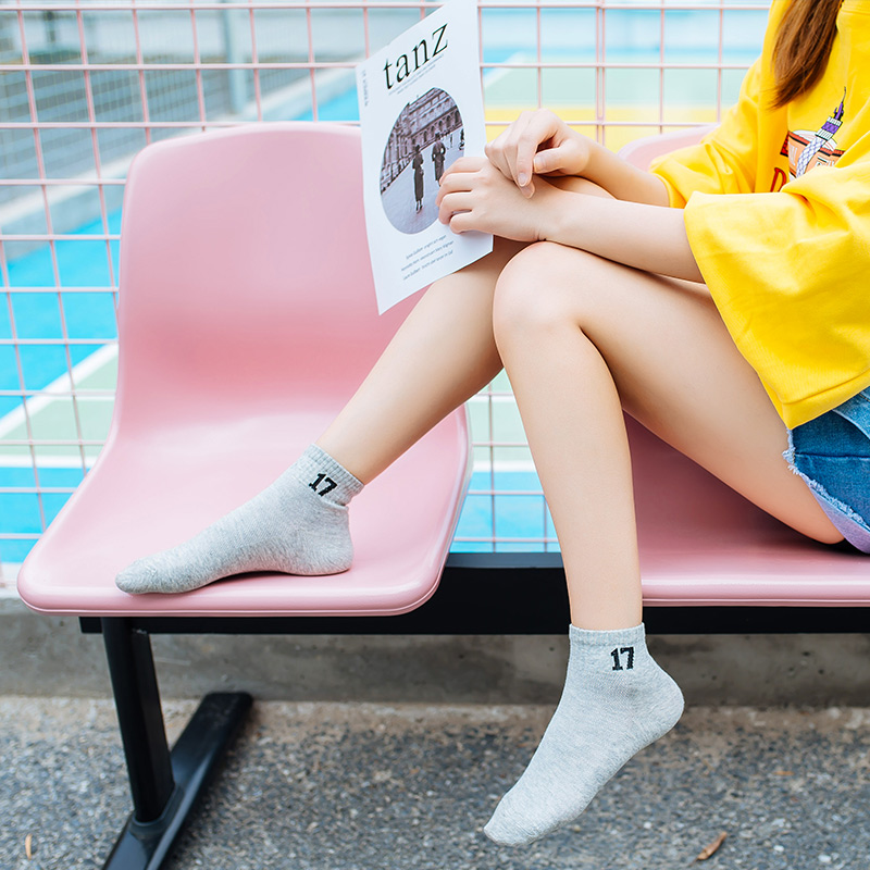 袜子女士中筒袜韩版学院风日系夏季长款秋冬学生运动韩国软妹女袜