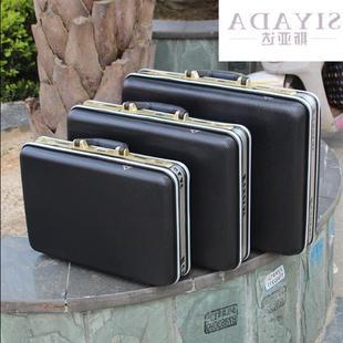 手提密码箱文件箱装钞箱公文包工具箱仪器箱登机箱男女旅行箱ABS