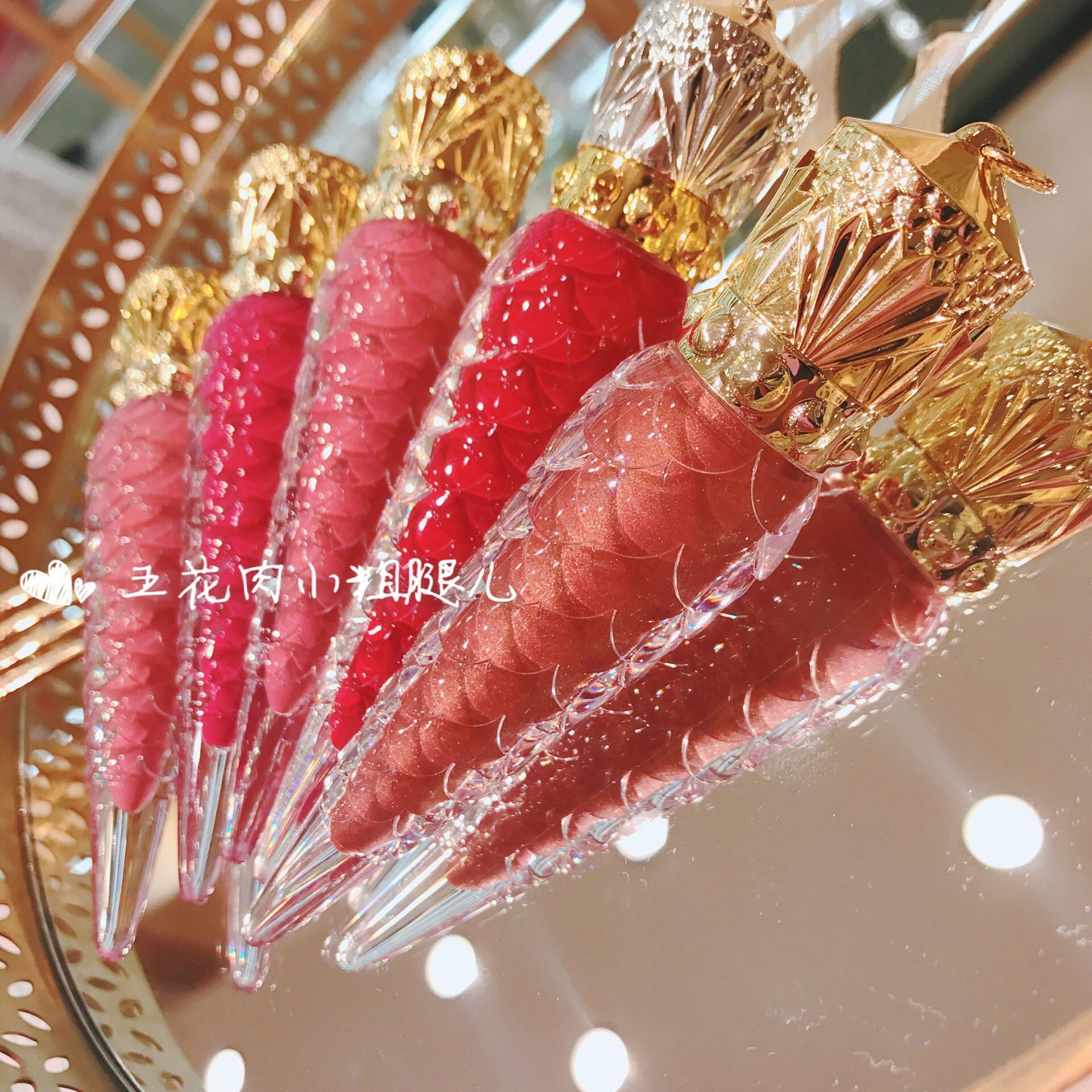 正品Christina Louboutin CL萝卜丁圣诞限量女王权杖红管唇釉唇膏